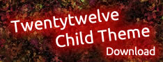 Child Theme von Twenty Twelve Download